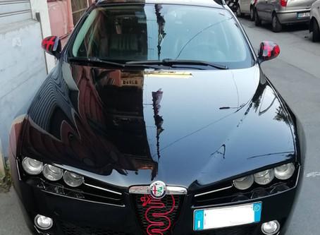 Cosa sono le famose fiamme che sputa il drago dell'Alfa Romeo? E  si possono stampare in 3D?