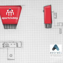 Cover progettate e stampate in 3D: il caso di SportClubby