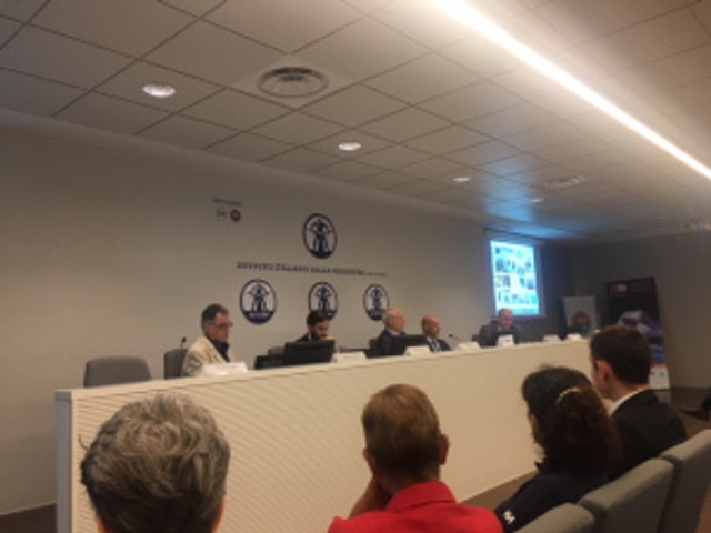 istituto italiano saldatura conferenza astrati