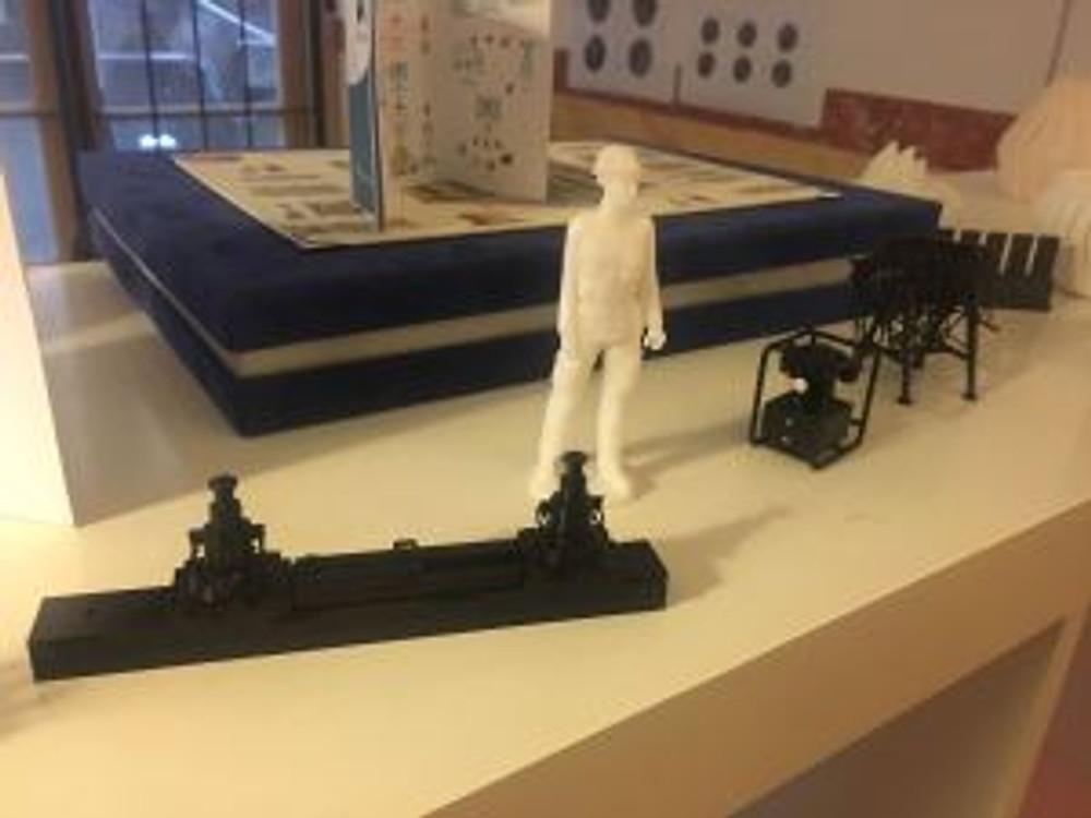 modelli tecnici per diorama