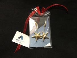 orecchini starfish oro Astrati