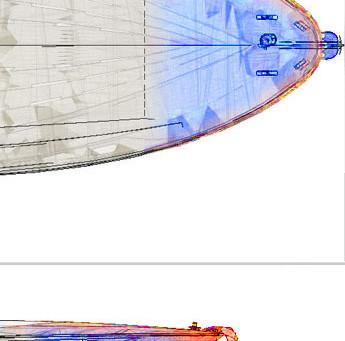 Comparazione tra il reale e i disegni di progetto.