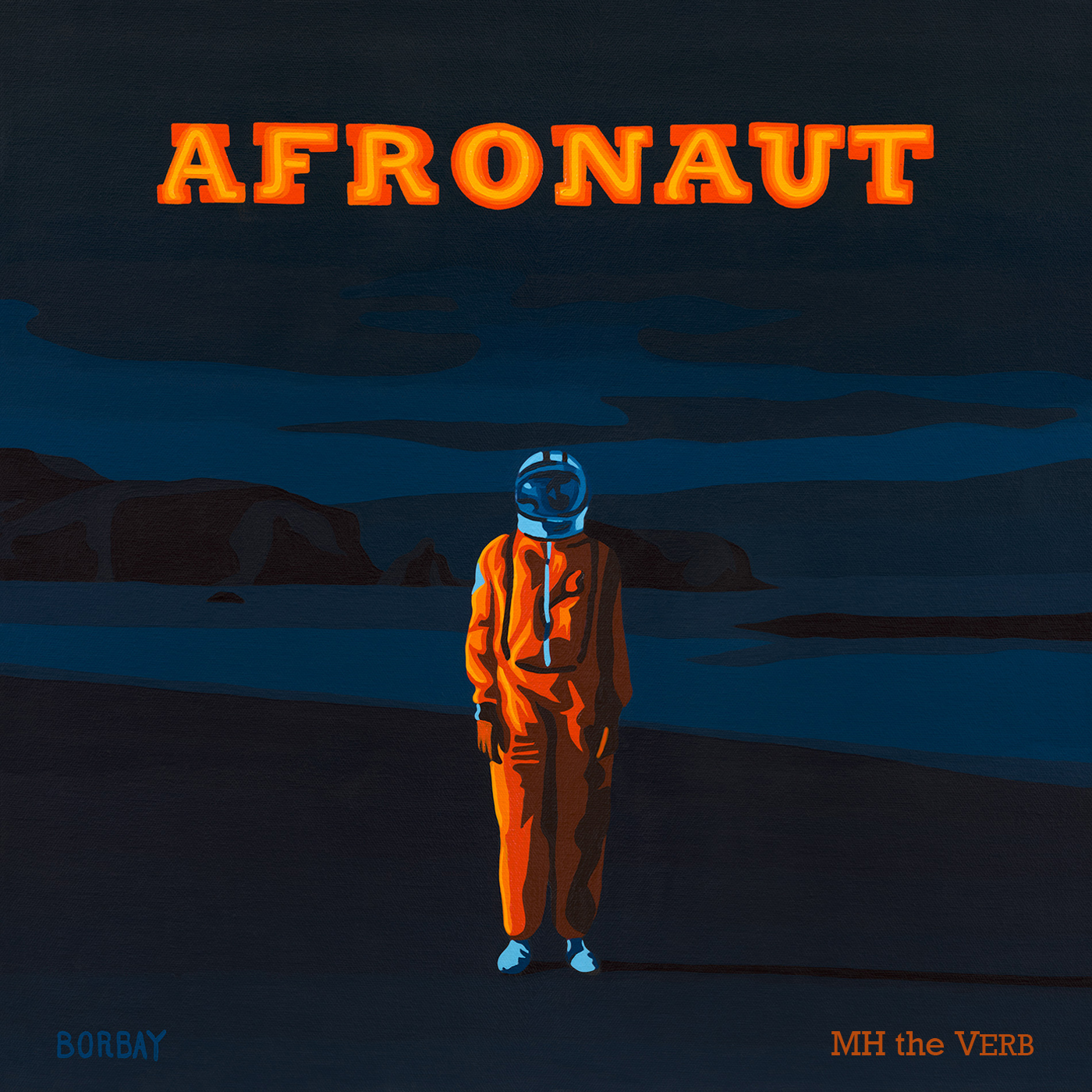 MH the Verb - Afronaut (2017) - Album Art