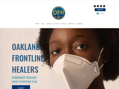 OAKLAND FRONTLINE HEALERS