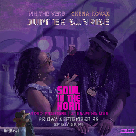 "#SOULINTHEHORN TO VIRTUALLY PREMIERE NEW MUSIC VIDEO ""JUPITER SUNRISE"" ON TWITCH"