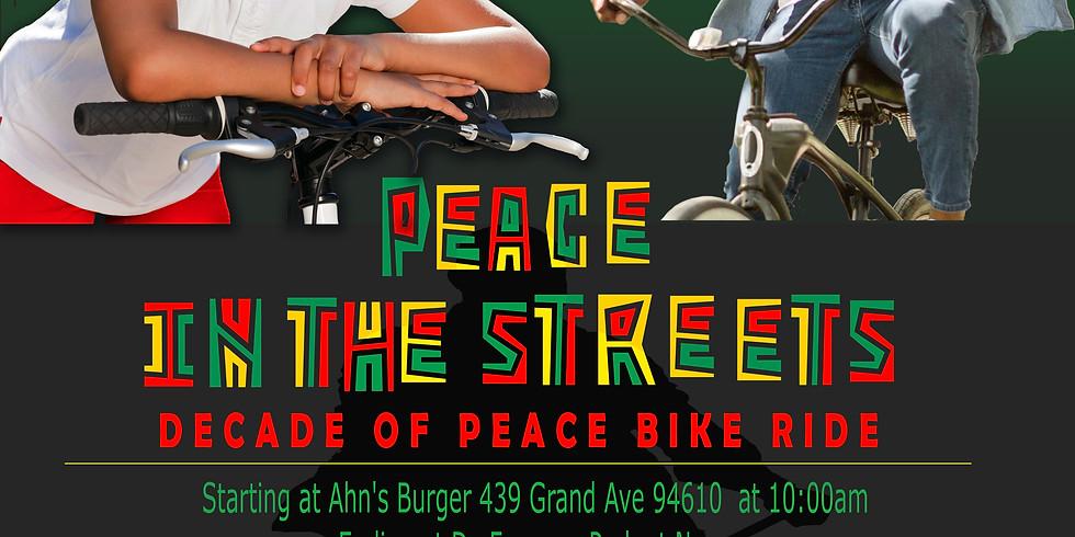 Decade of Peace Bike Ride