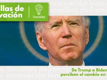 De Trump a Biden, ¿cómo perciben el cambio en México?