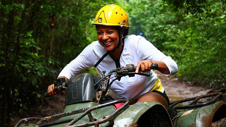 ATV & Zip-line jungle adventure