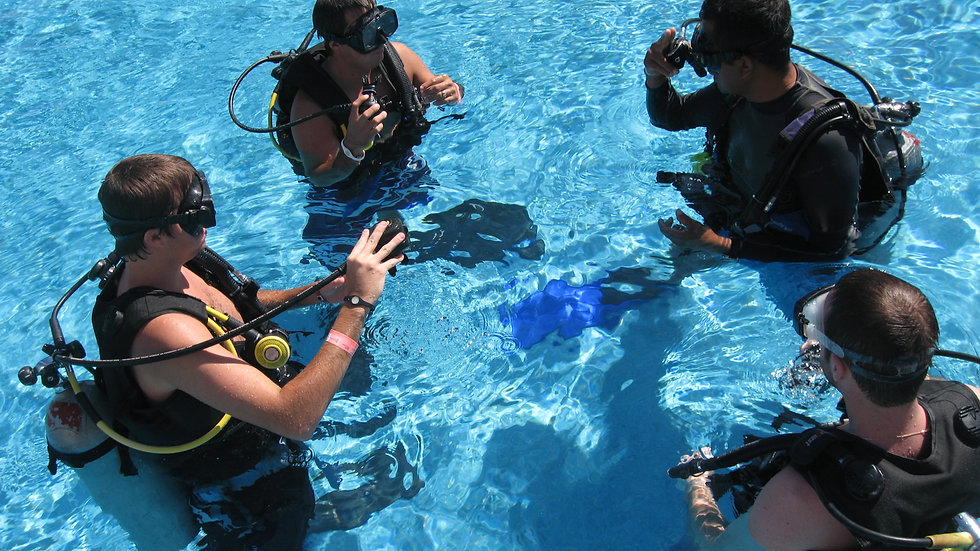 Scuba & Lesson for beginers