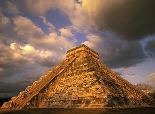 Ancient Mayan Ruins, Chichen Itza, Mexic