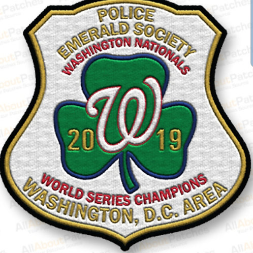 PES/Nationals World Series patch