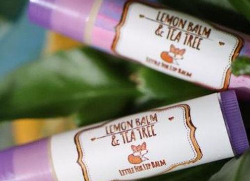 Tea Tree & Lemonbalm Coldsore Relief Lipbalm