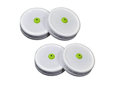 Map-Tech Lids, Wide mouth, 4 pack