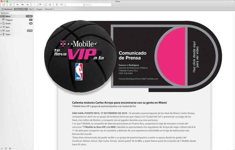 TMobile VIP-NBA