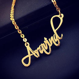 Customized name Pendents