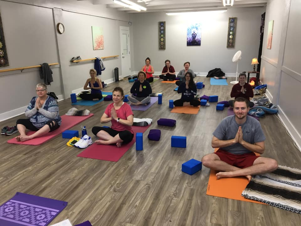 Yoga class with instructor Frances!