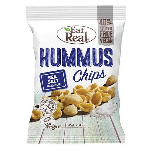 Eat Real Hummus, Sea Salt Flavour 6 x 45g