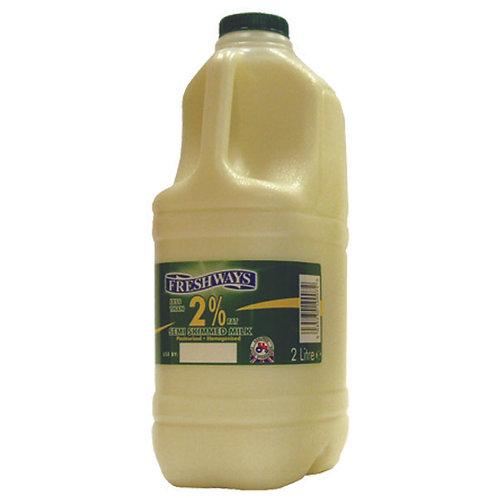 Fresh Semi Skimmed Milk-(Green Cap)- 2L