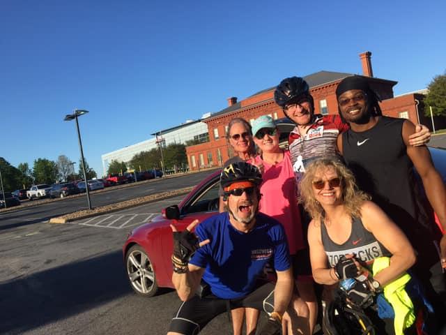 Little Rock Bike class with instructors John Alexander and Jonah Jericho!