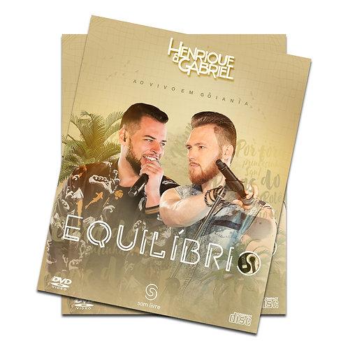 BOX DVD+CD Henrique e Gabriel - Equilíbrio