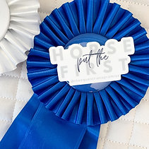 Horse First Sticker