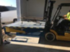 dock leveler pit construction