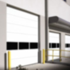 wayne dalton non insulated sectional steel commercial doors