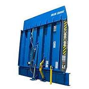 vertical storing dock leveler