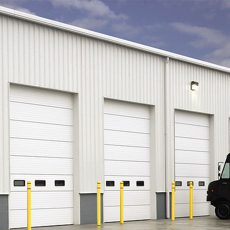 insulated-sectional-steel-door