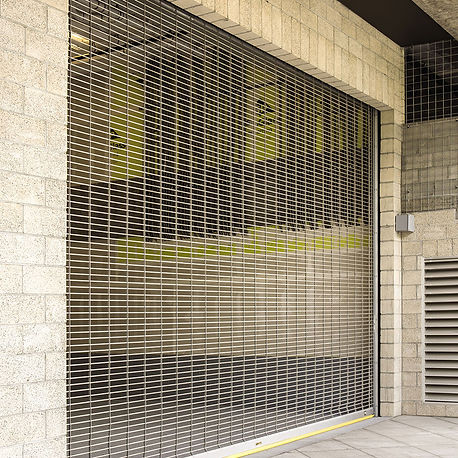 commercial rolling security grilles
