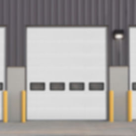 insulated sectional steel doors