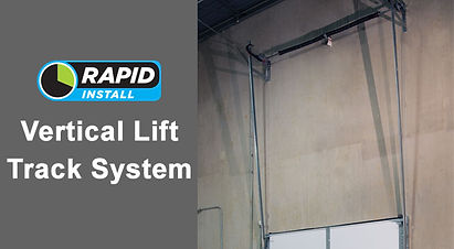 Rapid Install Vertical Lift Track System