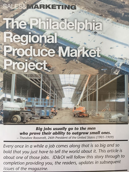 Philadelphia Regiona Produce Market Project