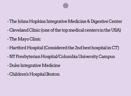 Hospitals + Reiki