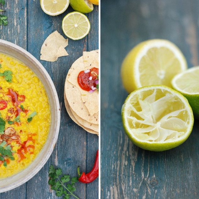 Dhal with Lemon