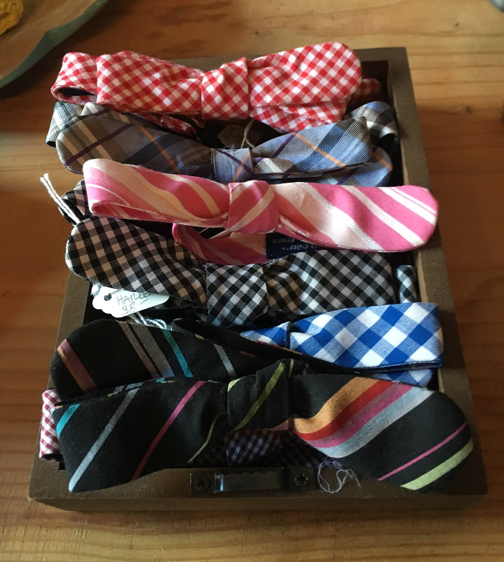 Bow ties at Silvana