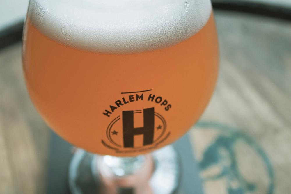 Harlem Hops serves 15-plus rotating beers on tap