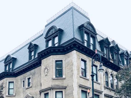 Spooky walk: this Harlem neighborhood has mansard roofs galore