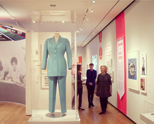 "Hillary Clinton at ""Beyond Suffrage"" at the Museum of the City of New York"
