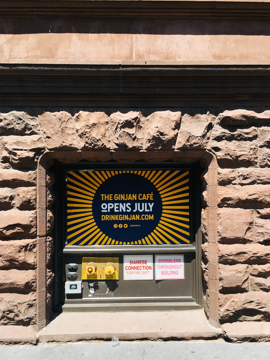 East Harlem's Ginjan Cafe is now set to open in August