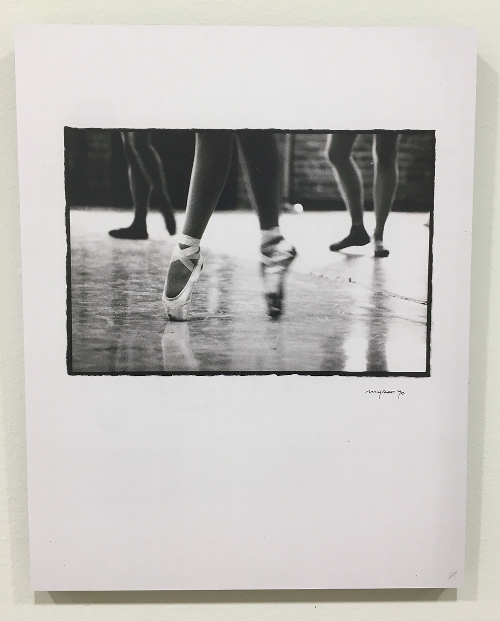 Dance Theatre of Harlem co-founder Arthur Mitchell was the focus of a show earlier this year at Columbia's Wallach Art Gallery