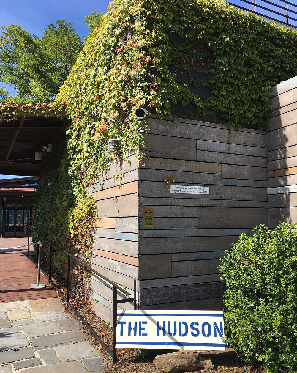 The Hudson, a restaurant from the owner of the Brother Jimmy's restaurant chain, has opened in the old La Marina space in Inwood