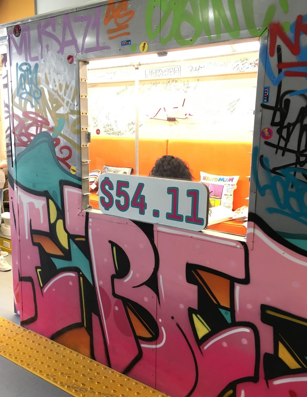 Subway and Reebok inspiration at Junie Bee Nails