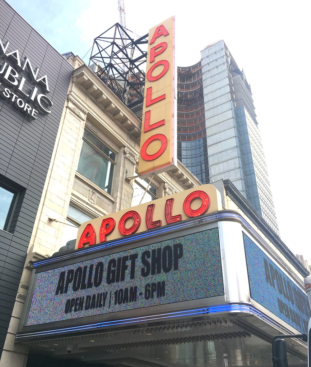 The Apollo Theater on 125th Street in Harlem