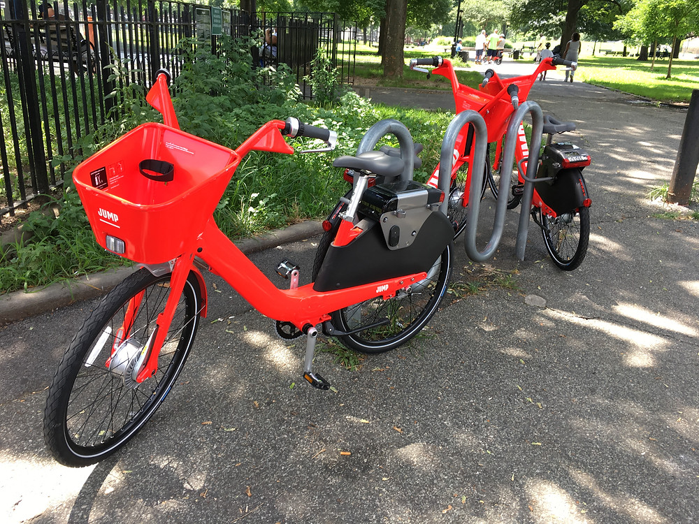 Jump's dockless electric bikes have arrived in the Bronx