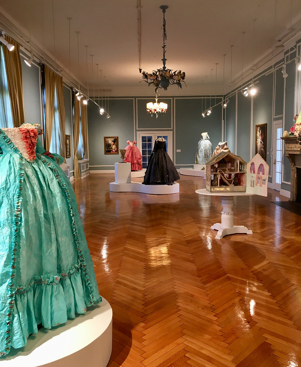 Artist Fabiola Jean-Louis reimagines the past through portraits of black women in baroque gowns