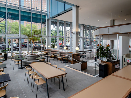 Here's a sneak peek at Manhattanville Market, the new food hall opening in West Harlem this week