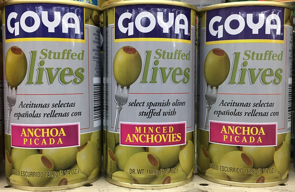 Goya products at Food Universe in Hamilton Heights