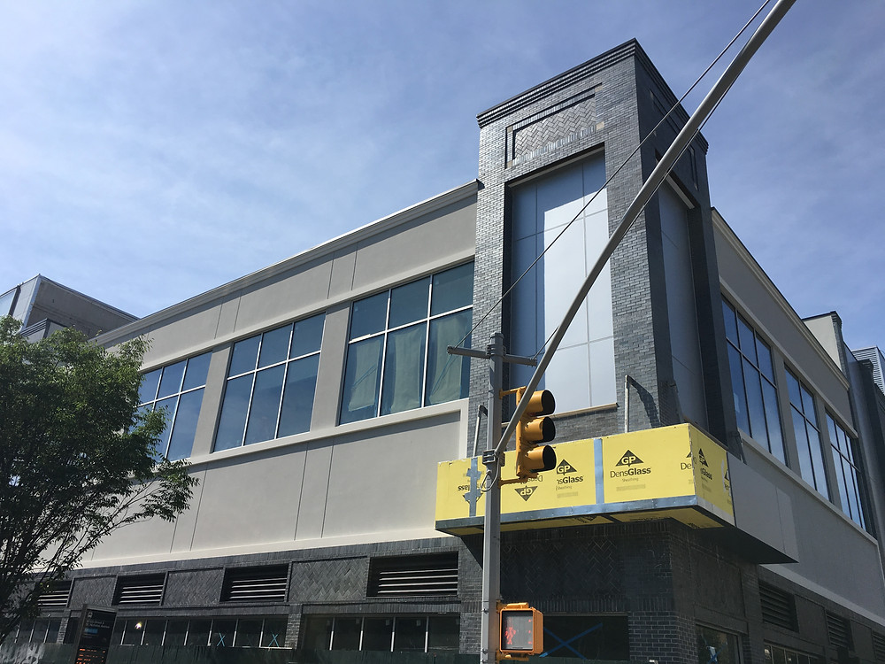 The new two-story building at 288 St Nicholas Avenue