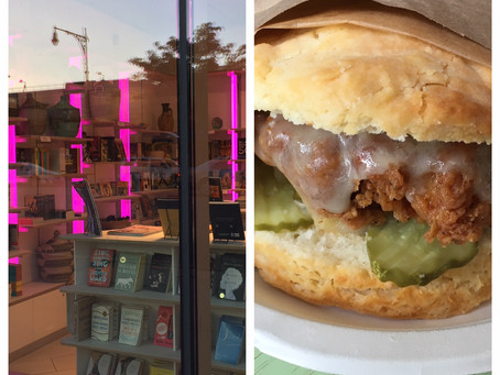Uptown double date: Morningside Coffee & Biscuits + Schomburg Center